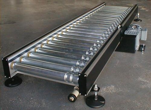 Lineshaft Conveyor Systems Gt Roller Conveyor Gt Lineshaft
